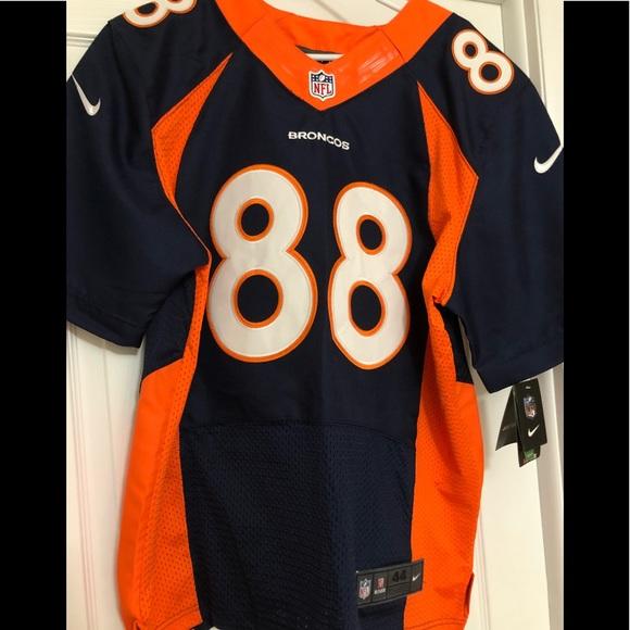 b41d6454d7b Men s Nike Elite Broncos Demaryius Thomas Jersey